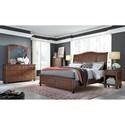 Aspenhome Oxford King Bedroom Group - Item Number: I07-WBR K Bedroom Group 1