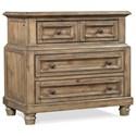 Aspenhome Parkwood Bedside Chest  - Item Number: I235-449