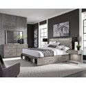 Aspenhome Platinum California King Bedroom Group - Item Number: I251 CK Bedroom Group 2