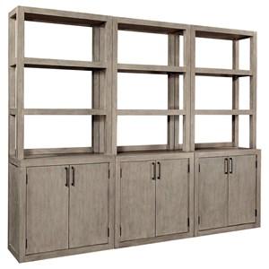 3-Piece Bookcase
