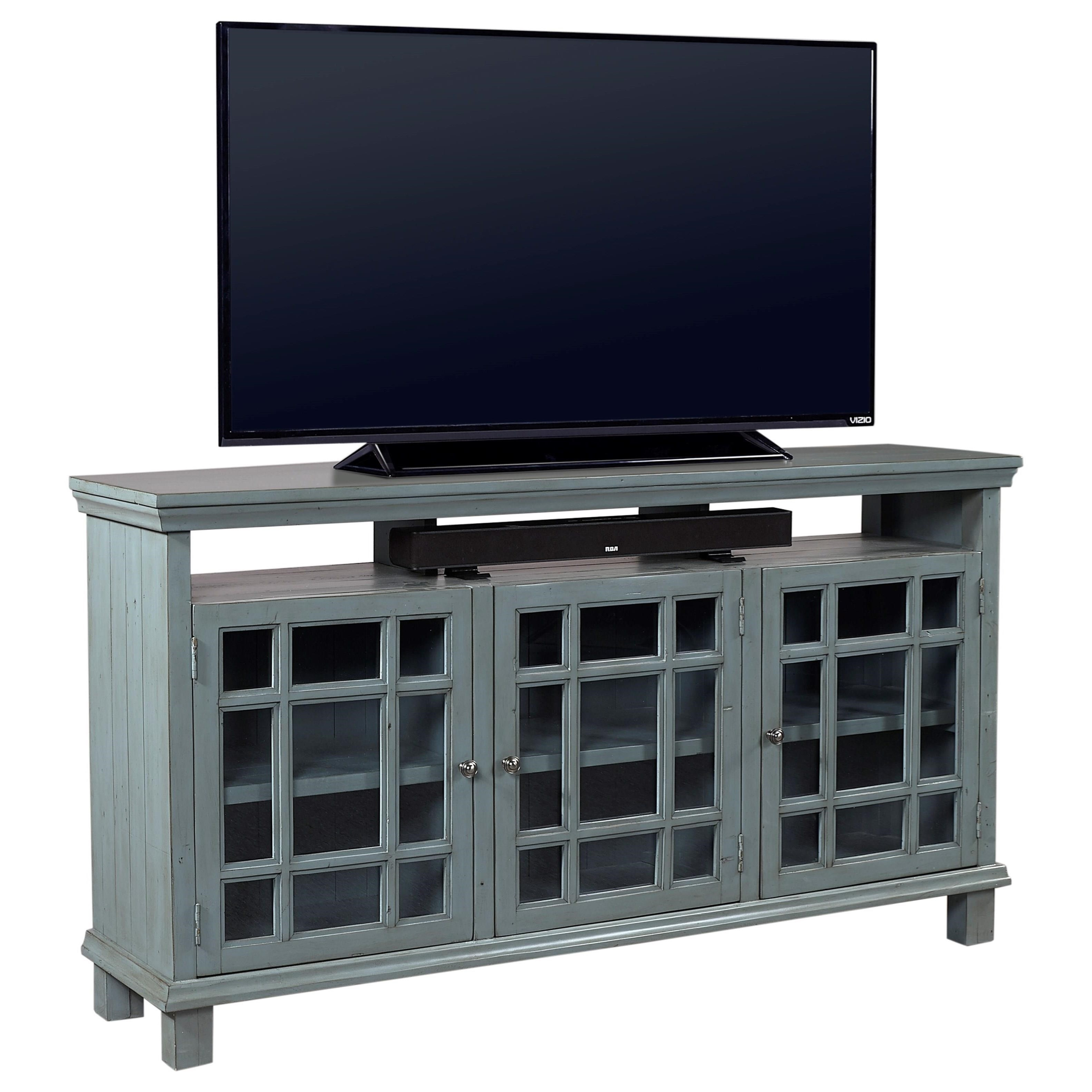 "Aspenhome Preferences 65"" Console  - Item Number: I44-265-SBL"