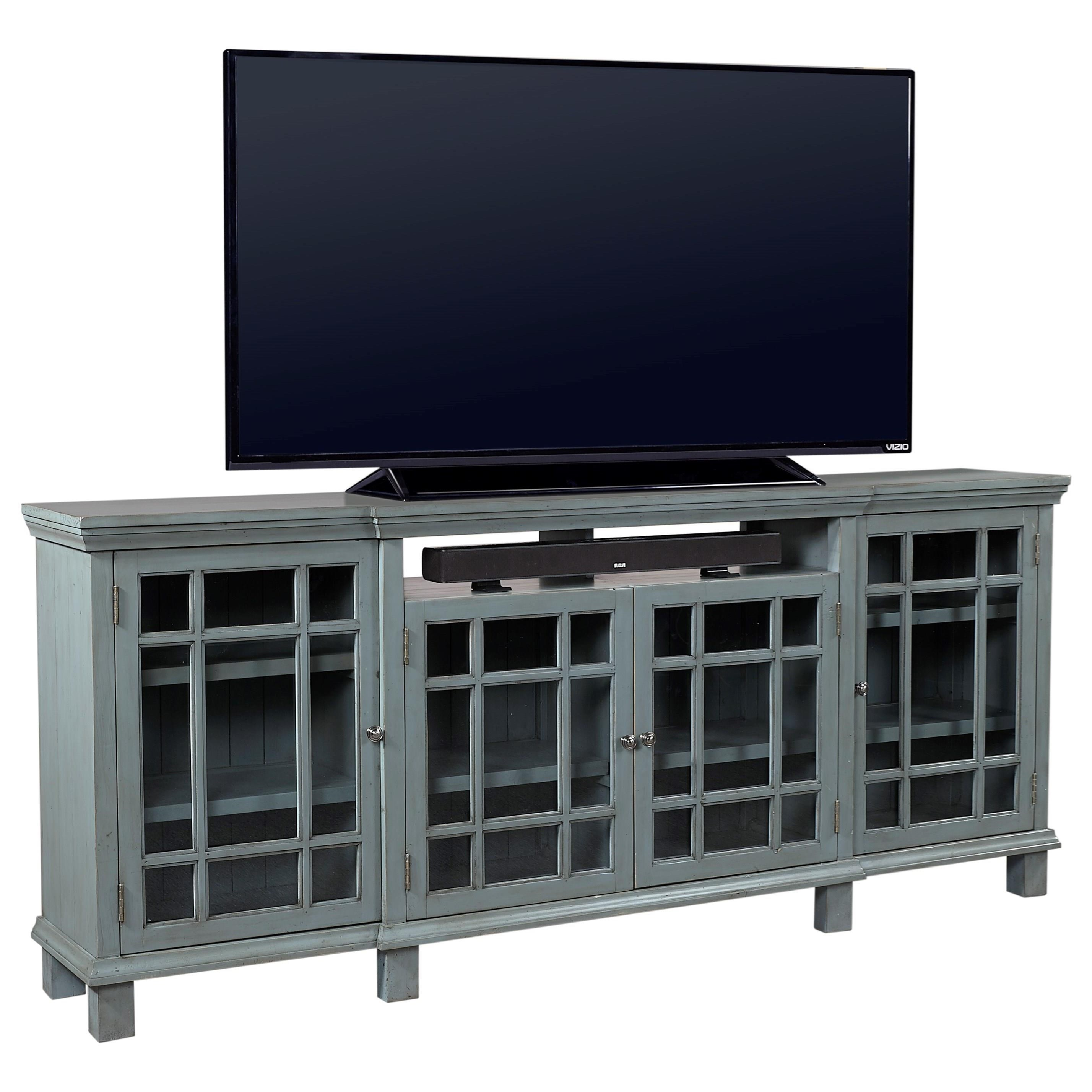 "Aspenhome Preferences 84"" Console  - Item Number: I44-284-SBL"
