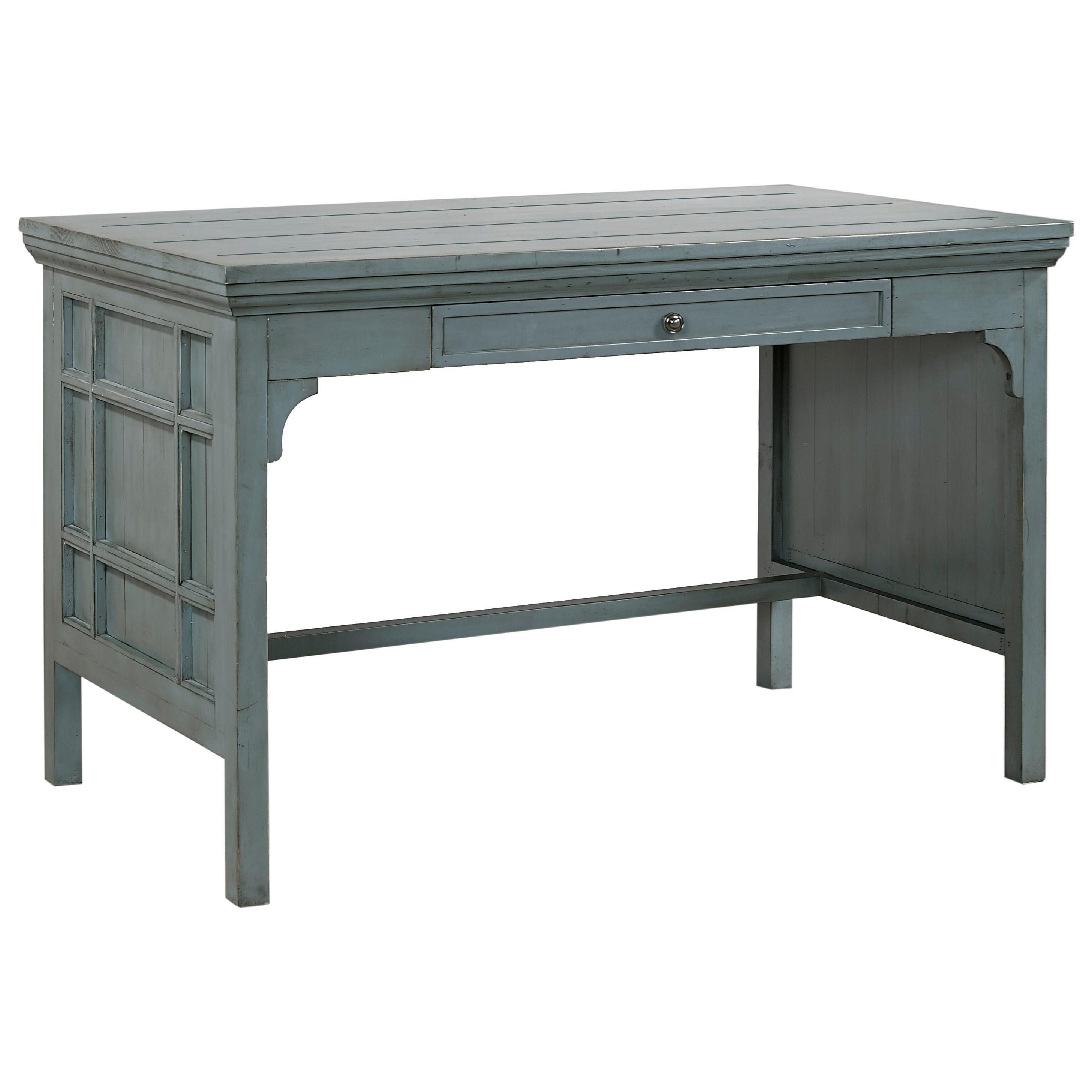 "Morris Home Furnishings Socorro Socorro 48"" Writing Desk - Item Number: I44-348WD-SBL"