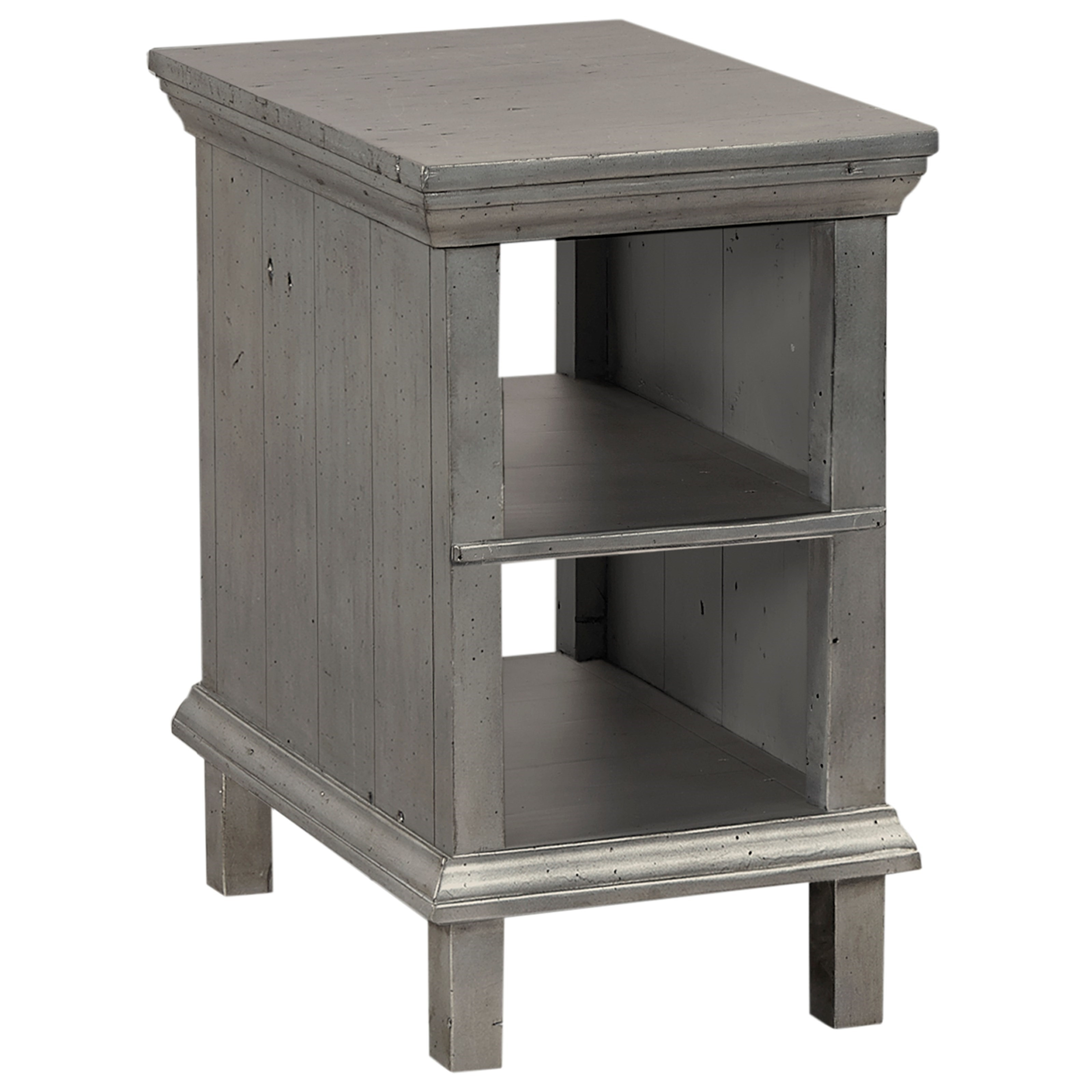 Highland Court Socorro Chairside Table  - Item Number: I44-9130-MET