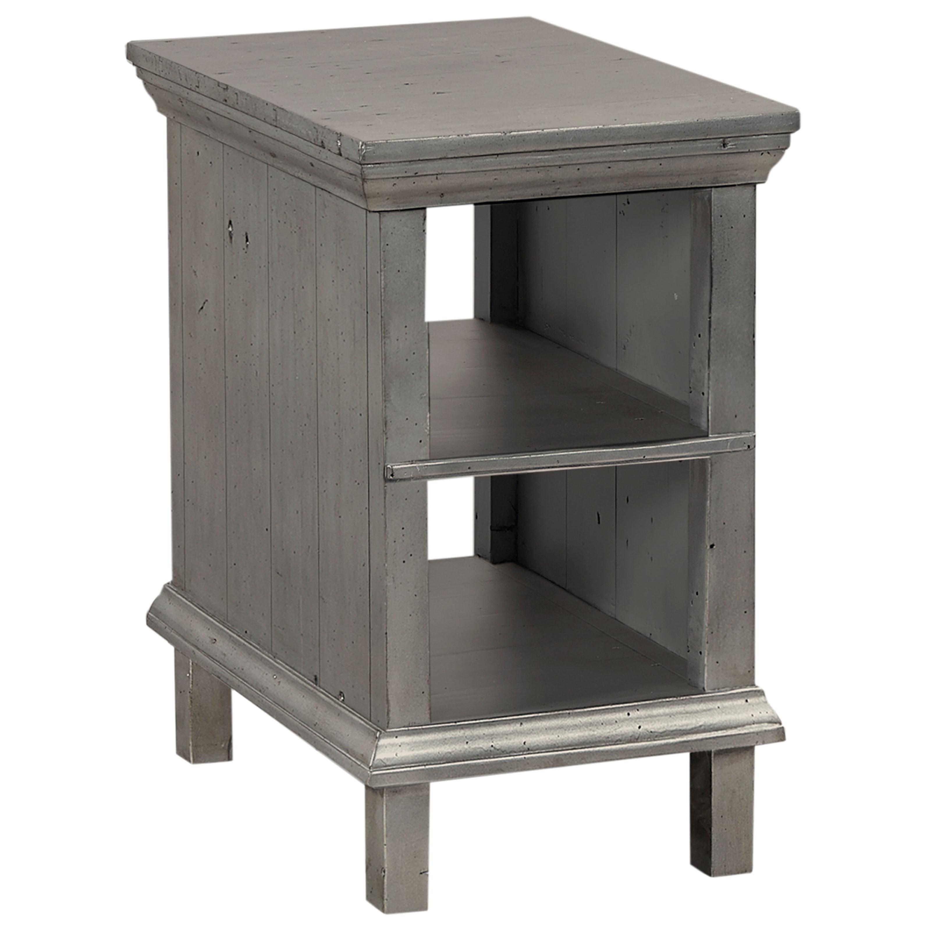Hills of Aspen Preferences Chairside Table  - Item Number: I44-9130-MET