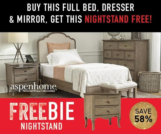 Marseille  Marseille Full Bed Group with FREEBIE! by Aspenhome at Morris Home