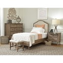 Aspenhome Provence Twin Bedroom Group - Item Number: I222 T Bedroom Group 1