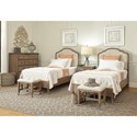 Aspenhome Provence Twin Bedroom Group - Item Number: I222 T Bedroom Group 2