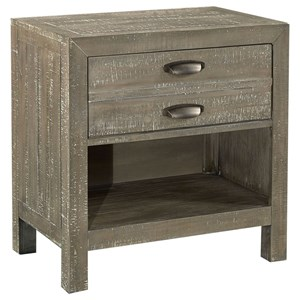 Rozet 1 Drawer Nightstand