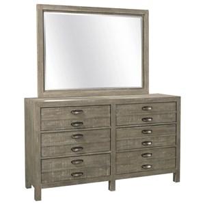 Dresser Mirror Combo