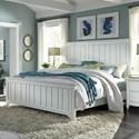 Aspenhome Retreat Queen Farmhouse Panel Bed - Item Number: I31-412+413+402