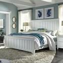 Aspenhome Retreat King Farmhouse Panel Bed - Item Number: I31-415+416+406-CHK