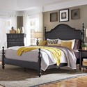 Aspenhome Retreat California King Poster Bed - Item Number: I31-434+435+410-SHD