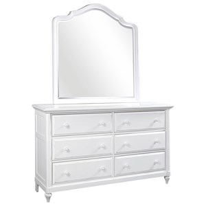 Aspenhome Retreat Dresser and Poster Mirror