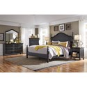 Aspenhome Retreat Six Drawer Dresser and Poster Mirror