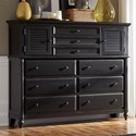 Aspenhome Retreat Master Chest  - Item Number: I31-460-SHD