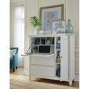 Aspenhome Retreat Secretary Dressing Chest with AC Outlets