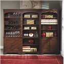 Morris Home Furnishings Richmond Large Bookcase Wall