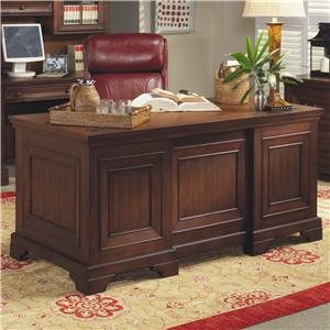 "Morris Home Furnishings Richmond 66"" Executive Desk"