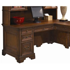 "Morris Home Furnishings Richmond 66"" Computer Desk"