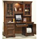 Aspenhome Richmond 66 Inch Credenza Desk - I40-316 - Shown with Credenza Hutch