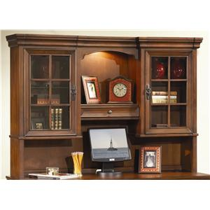 "Morris Home Furnishings Richmond 66"" Credenza Hutch"