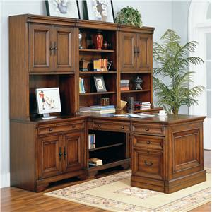 Morris Home Furnishings Richmond Modular Desk Wall