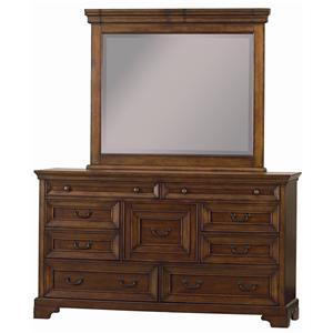 Aspenhome Richmond Dresser & Mirror
