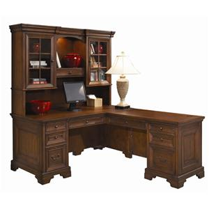 Morris Home Furnishings Richmond Computer Desk and Return