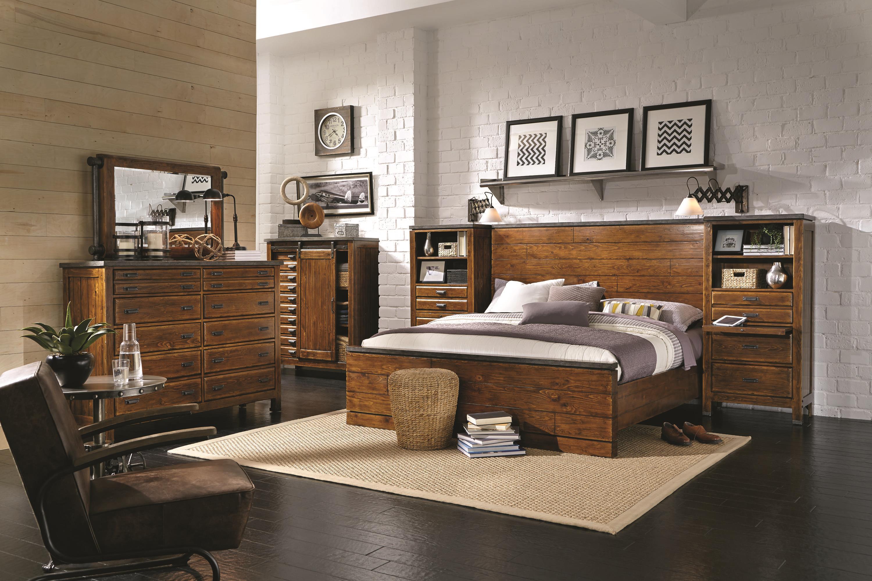 Aspenhome Rockland King Bedroom Group - Item Number: I58 K Bedroom Group 4