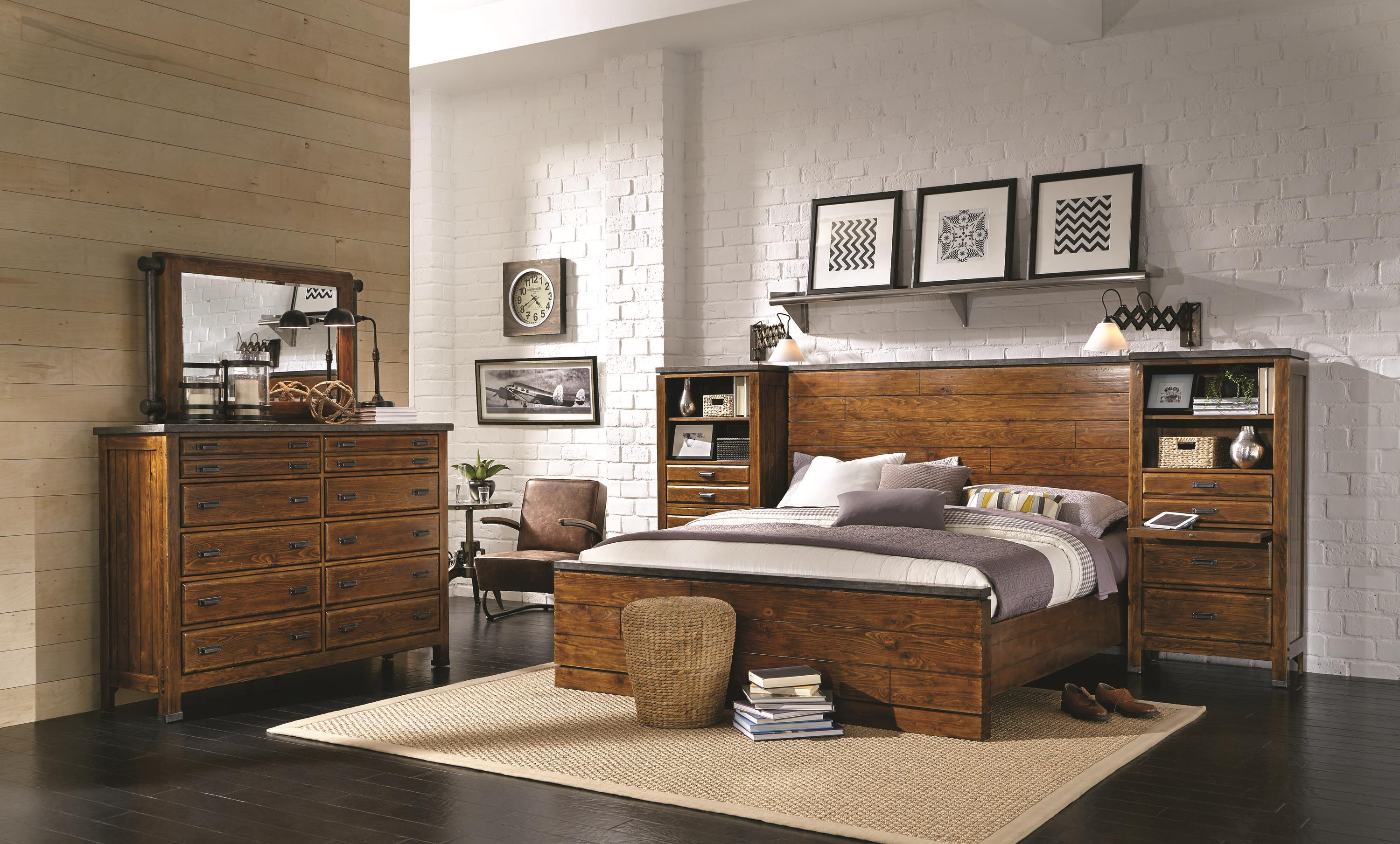 Aspenhome Rockland Queen Bedroom Group - Item Number: I58 Q Bedroom Group 5