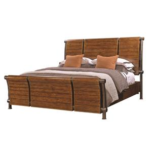 Aspenhome Rockland California King Sleigh Bed