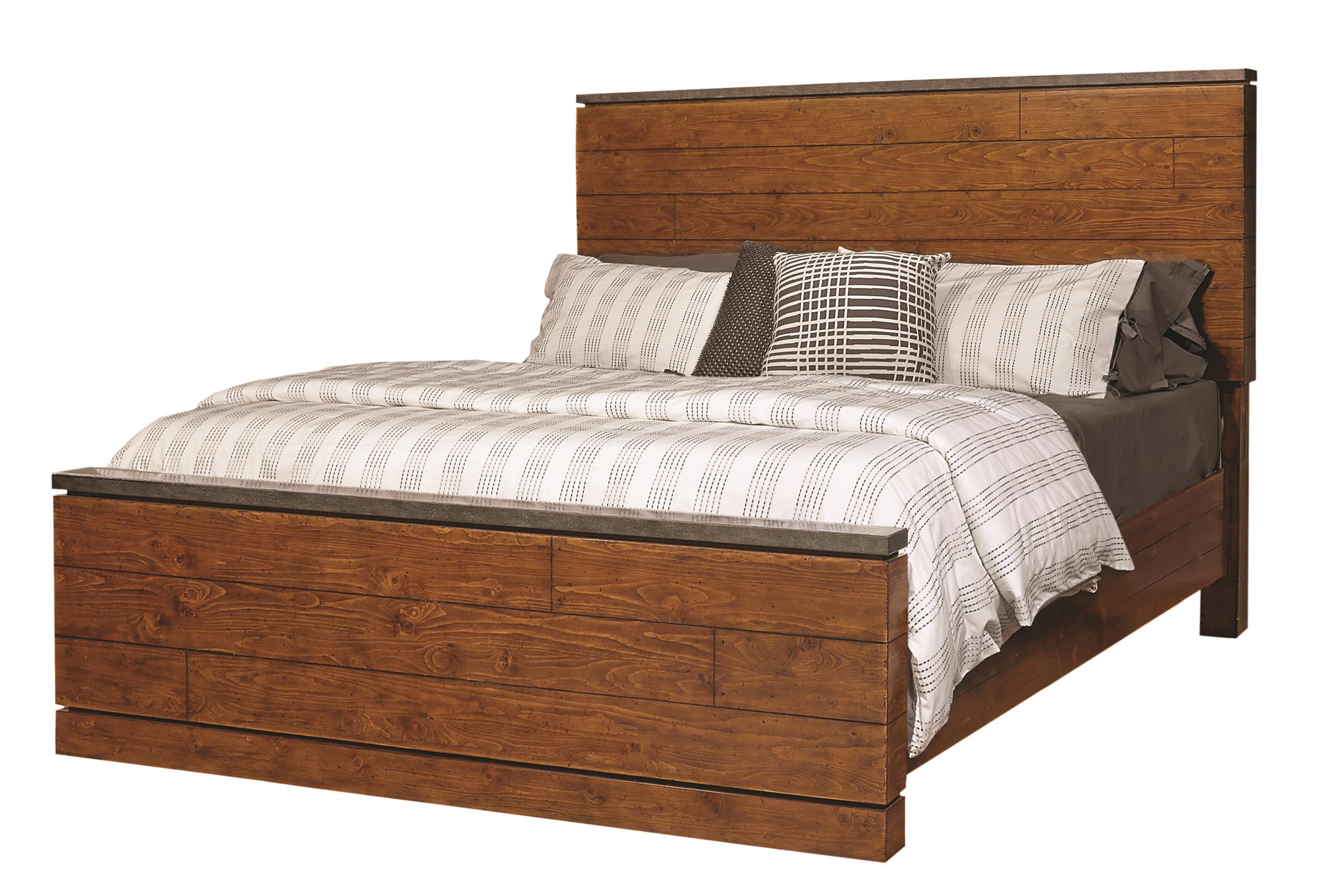 Aspenhome Rockland Queen Panel Bed - Item Number: I58-492+493+402