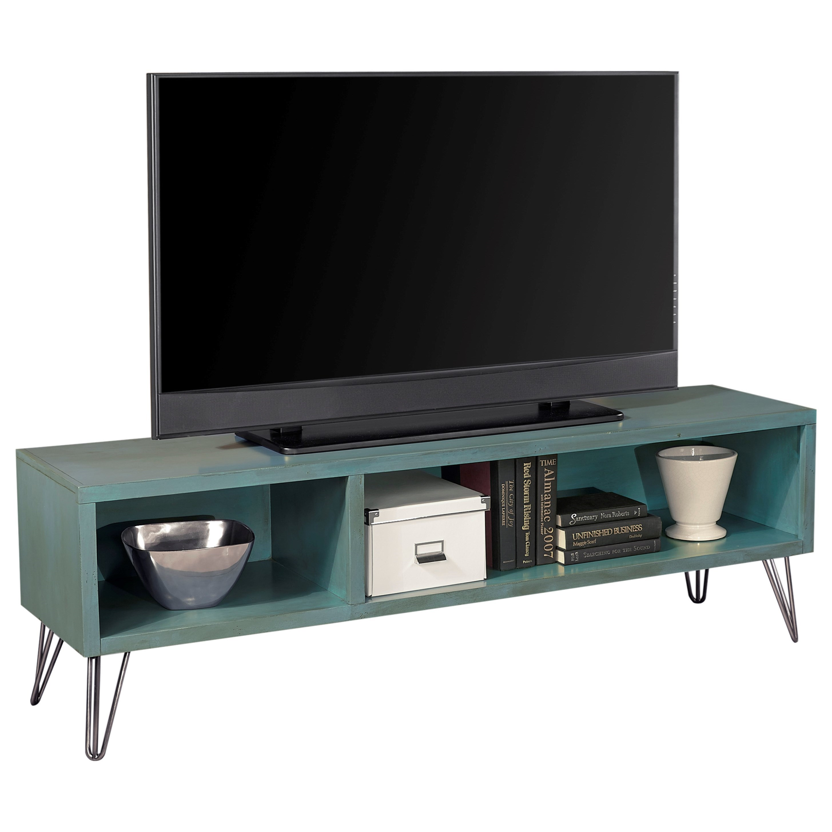 Aspenhome Studio 65 Quot Modern Industrial Lowboy Console Wayside Furniture Tv Stands