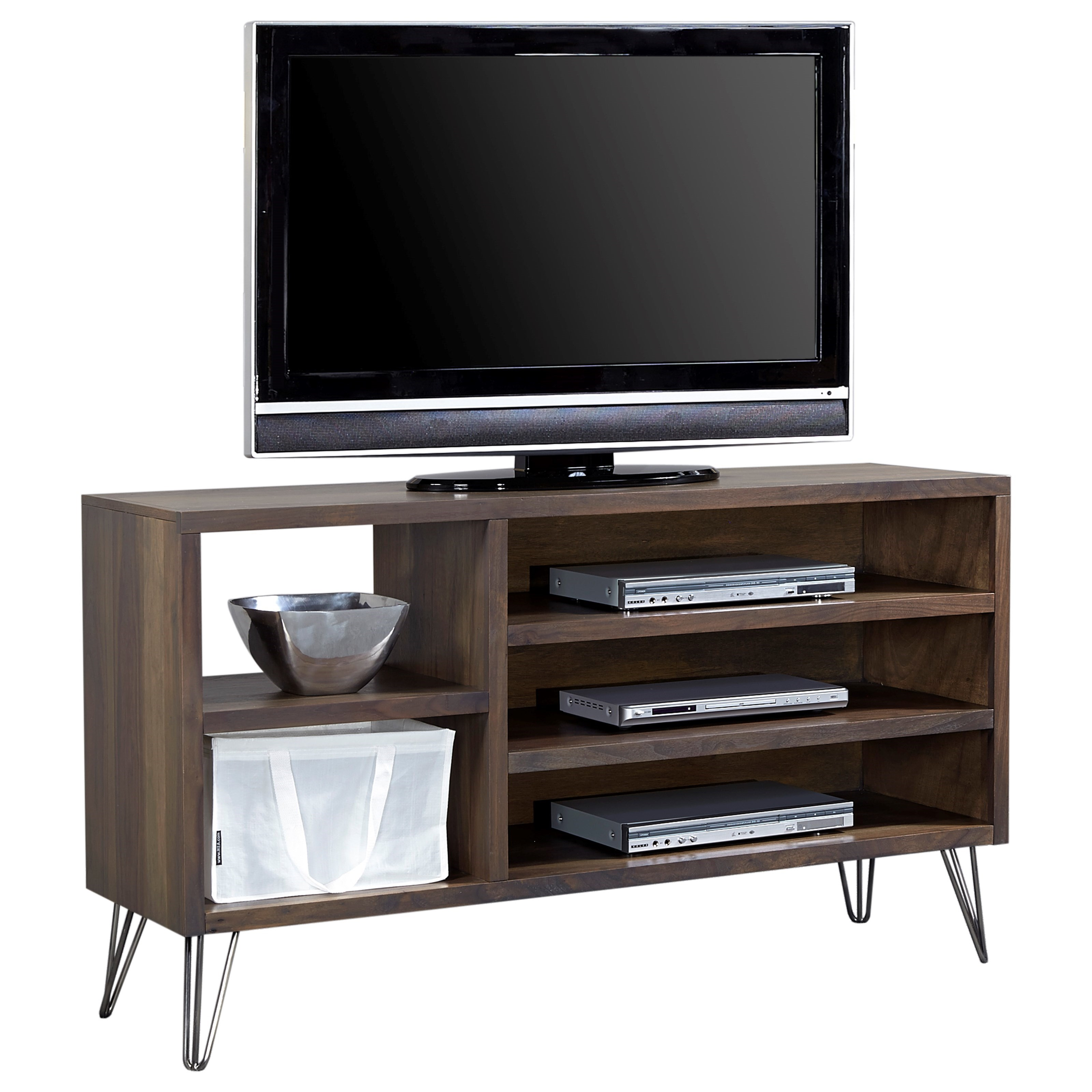 "Aspenhome Studio 58"" Asymmetrical Console - Item Number: WS1021-CHO"