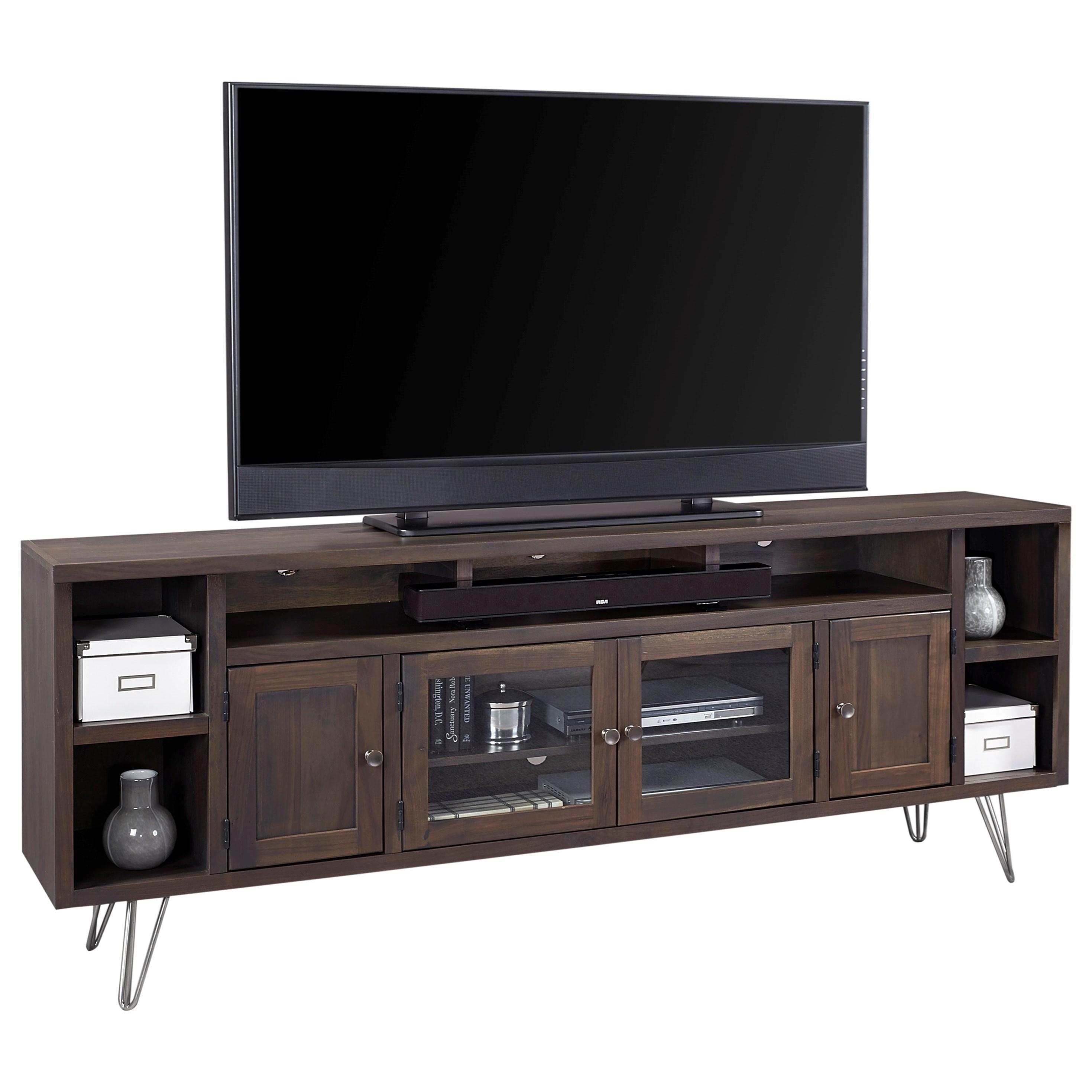 Aspenhome Studio 84 Quot Console With 4 Doors Wayside Furniture Tv Stands