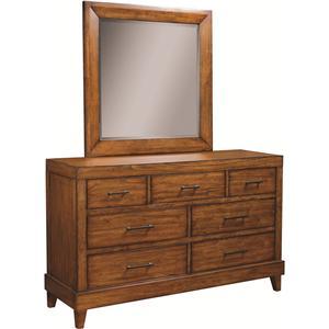 Aspenhome Tamarind Dresser & Landcape Mirror