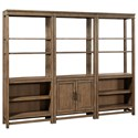 Aspenhome Terrace Point Bookcase Wall - Item Number: I221-332+2x333