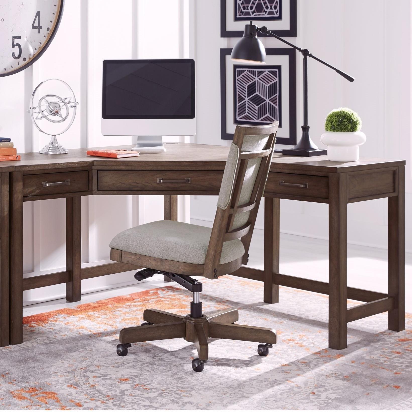 Ellison Ellison Corner Desk by Aspenhome at Morris Home