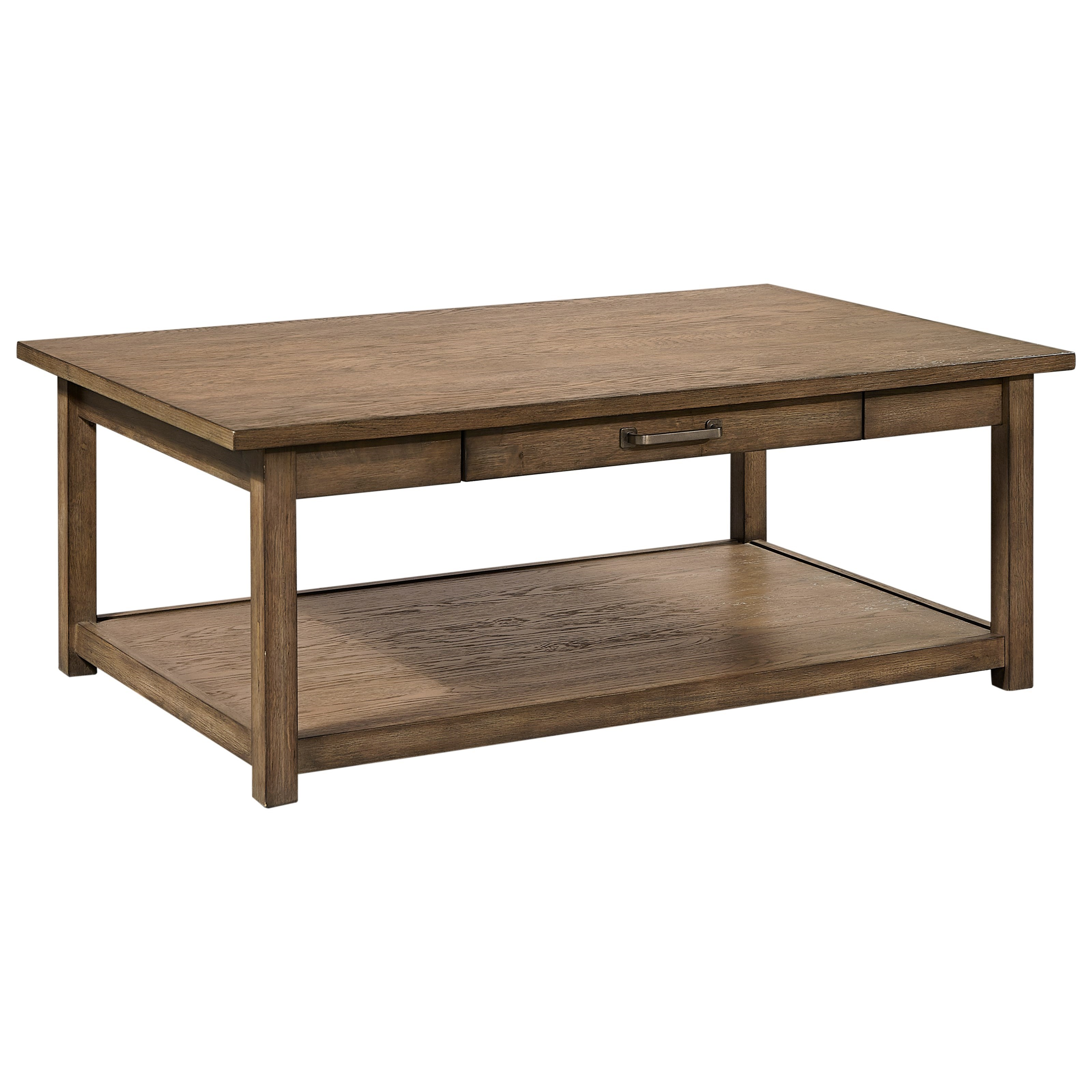 Aspen Home Coffee Table.Terrace Point Casual Cocktail Table With Drawer By Aspenhome At Dunk Bright Furniture