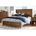 Aspenhome Thornton Queen Panel Bed - Item Number: I34-412-SNA+403-SNA+402-SNA