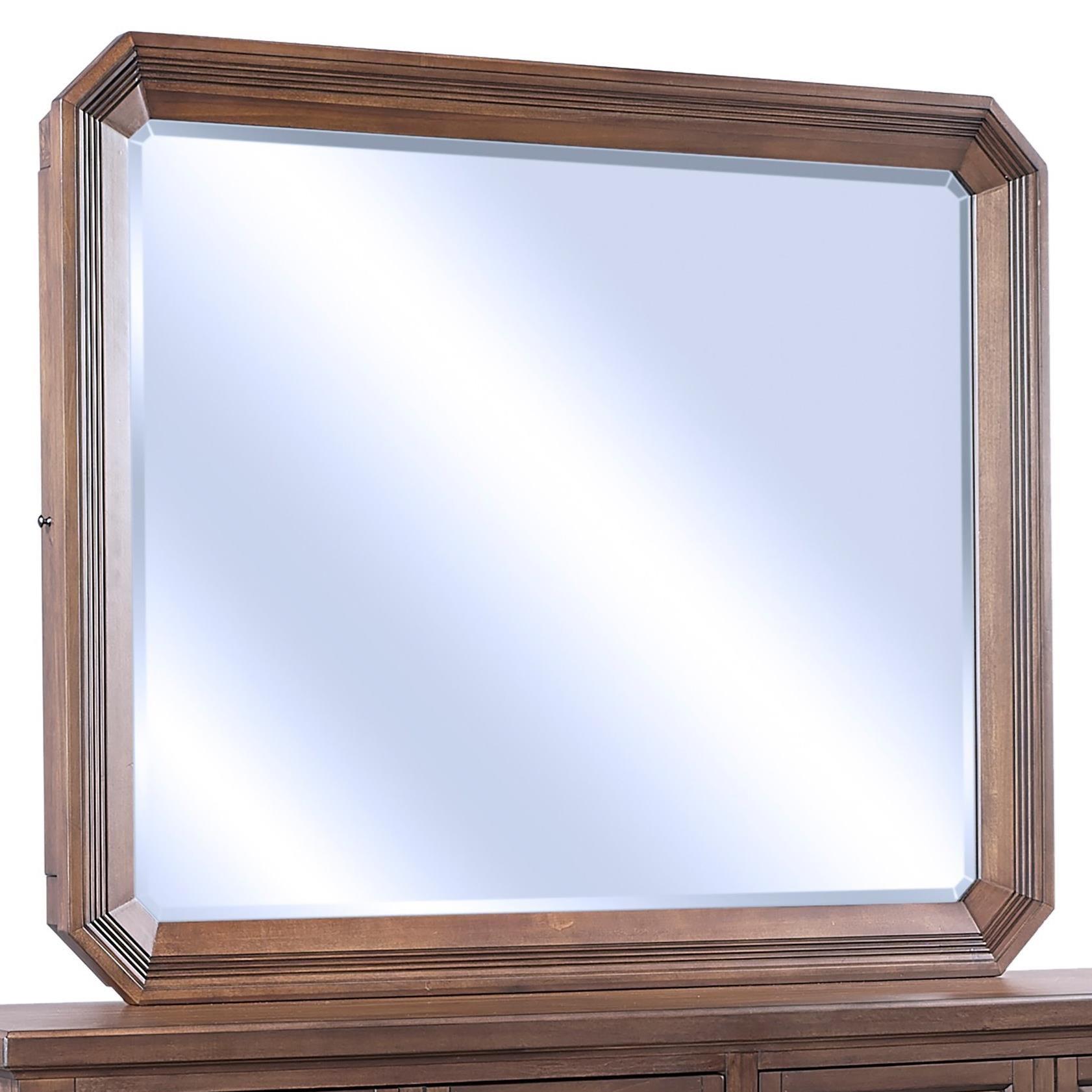 Mirror w/ Jewelry Storage