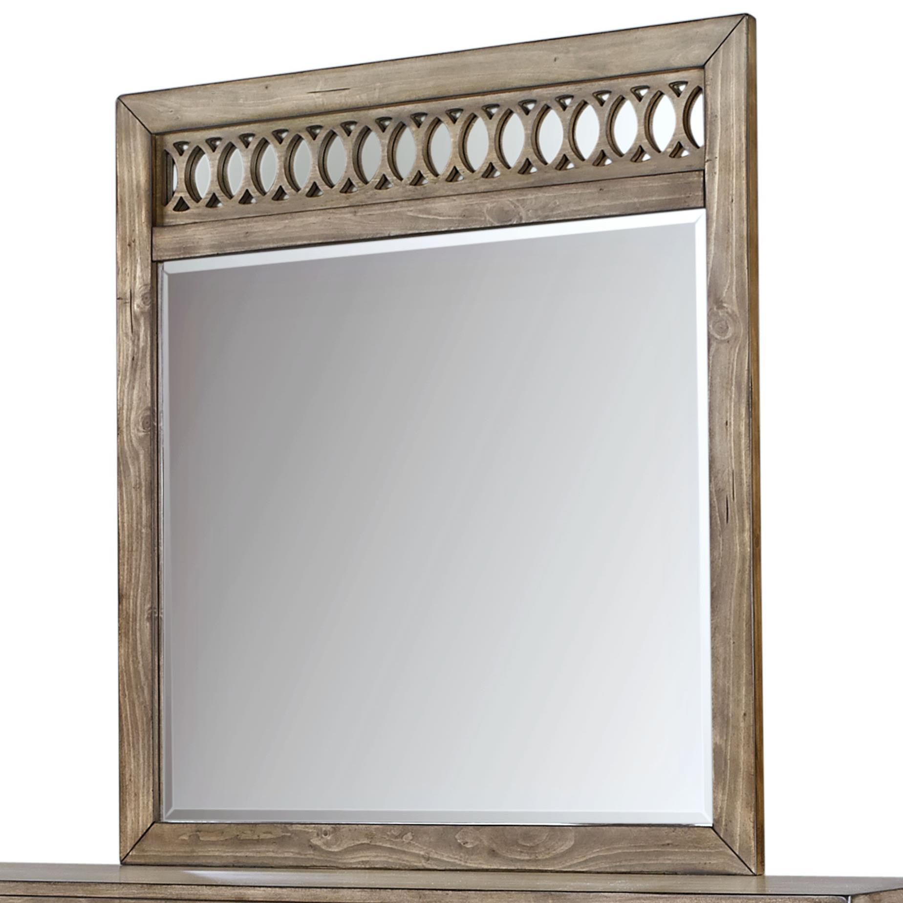 Aspenhome Tildon Fret Mirror - Item Number: I56-462