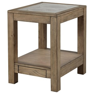 Morris Home Morris Home Templin Park Chair Side Table