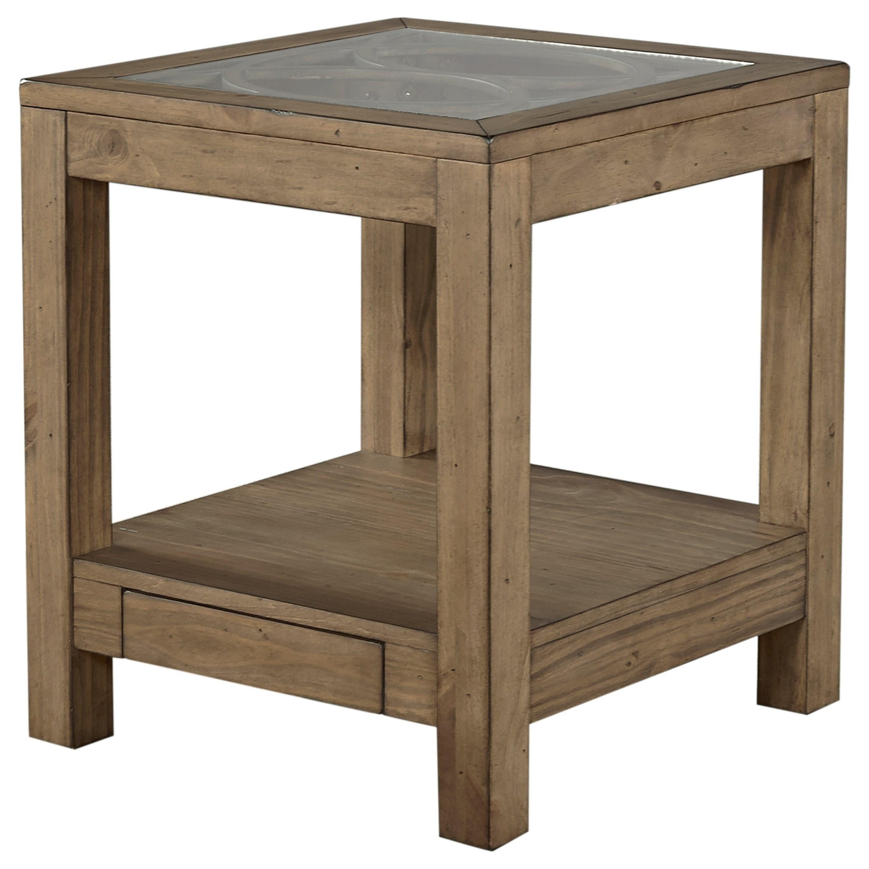 Aspenhome Tildon End Table - Item Number: I56-9145GL