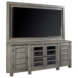"75"" Console with TV Backer"