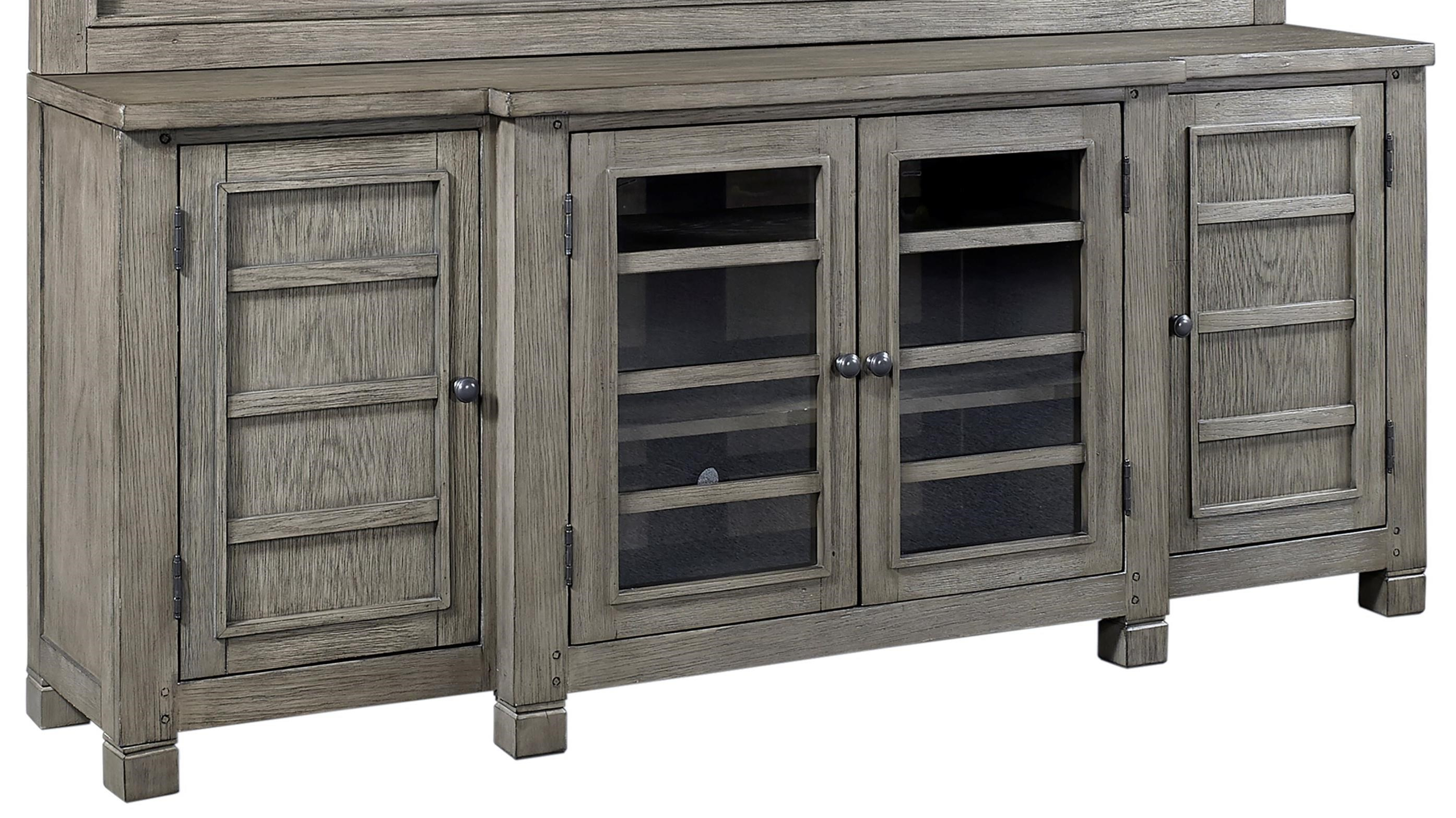 "Tucker 75"" Console  by Aspenhome at Mueller Furniture"