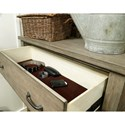 Aspenhome Tucker 5 Drawer Chest with Felt Lined Top Drawer