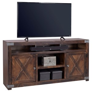 "Morris Home Furnishings Urban Farmhouse 65"" Entertainment Console"