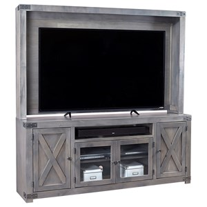Aspenhome Urban Farmhouse Wall Unit